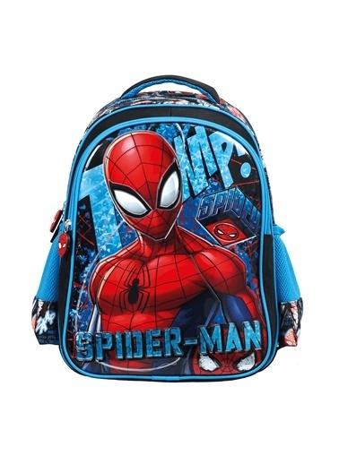 Spider-Man Spiderman Stand Tall Çekçekli ılkokul Çantası 5254 Renkli